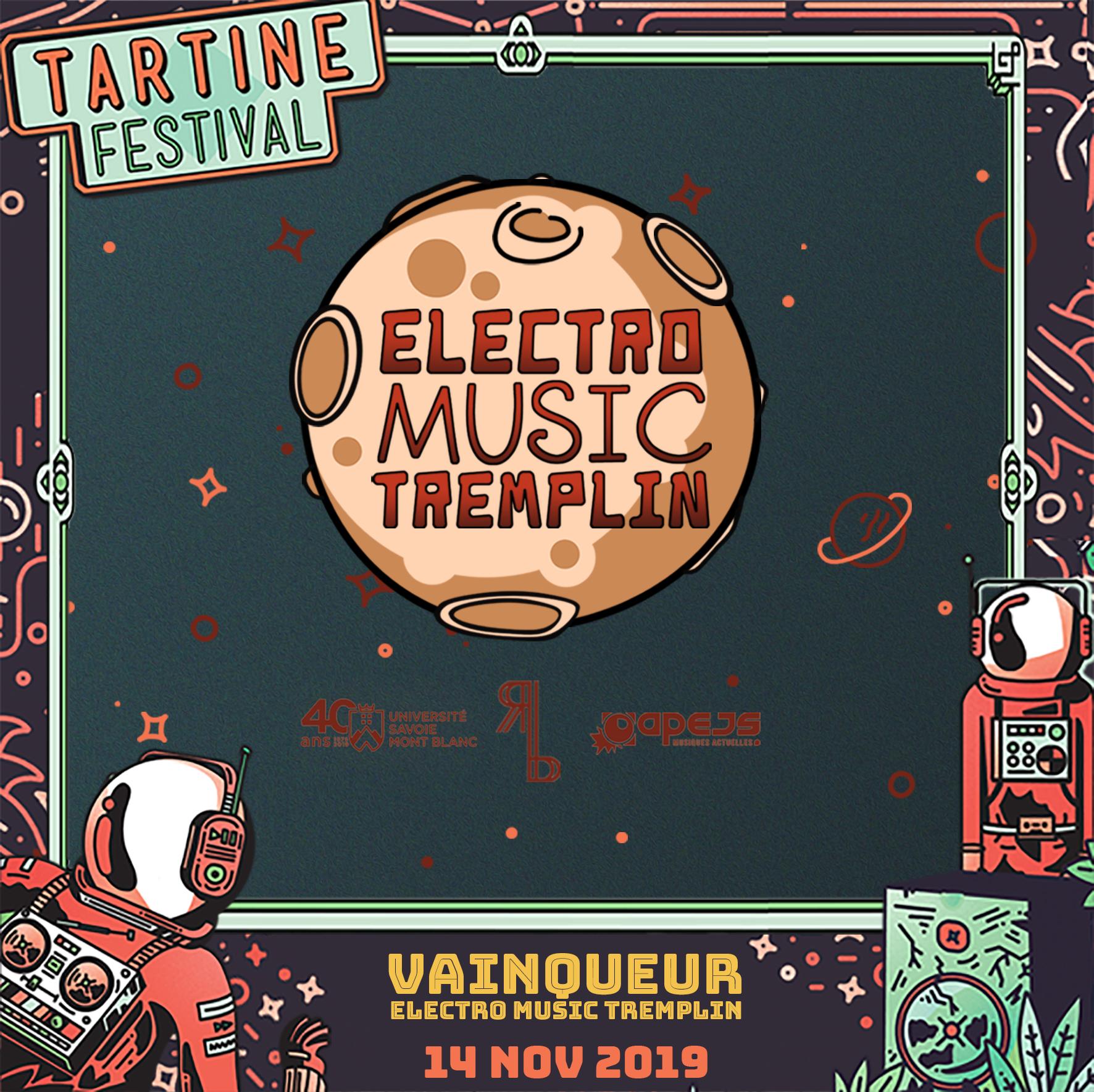 Visuel Electro Music Tremplin